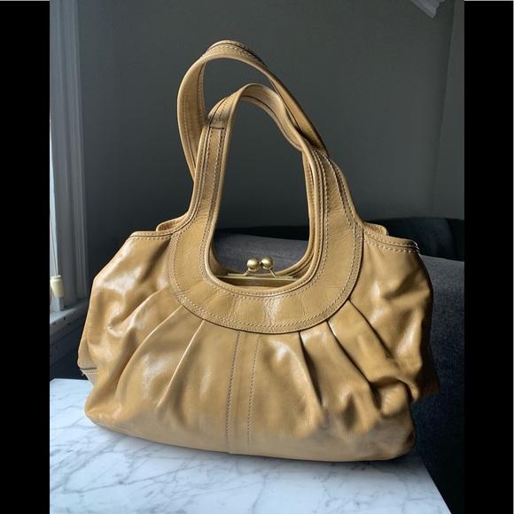 0527acc32 Coach Bags | Authentic Ergo Patent Pleated Satchel | Poshmark
